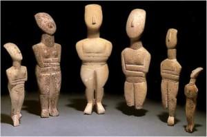 sculture cicladiche