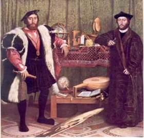 Hans Holbein il Giovane, Ambasciatori, 1533